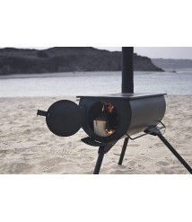 Anevay The Frontier Stove: Wood Burning Camping Tent Stove from UK