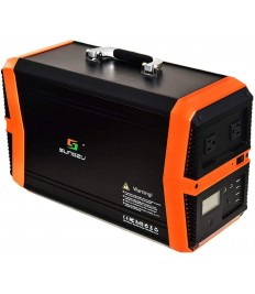 1000W Solar Generators Portable Power Station, 1010Wh Emergency Solar Powered Generator Lithium Battery Backup Power Supply Portable Generator with AC DC USB outlets for Camping Travel Home Emergency